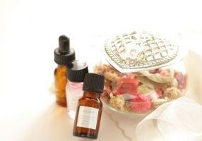 34069949 - potpourri fragrant plant material and aroma oil